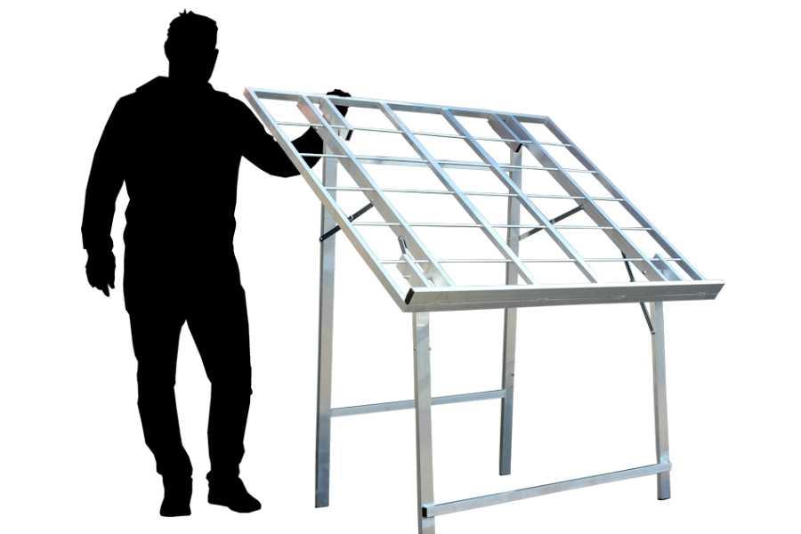 Markttafel Bull Mitch 150x120cm